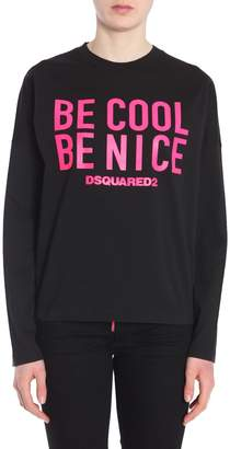 DSQUARED2 Be Cool Be Nice Long Sleeve T-shirt