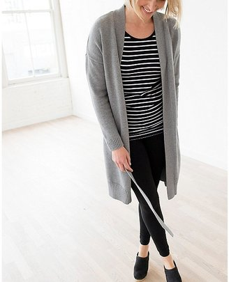 Women's Silk Touched Long Cardigan $138 thestylecure.com