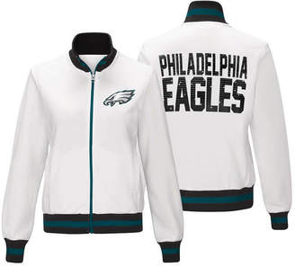 G-iii Sports Women's Philadelphia Eagles Field Goal Track Jacket