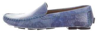 Robert Graham Round-Toe Driving Loafers