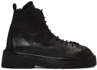 Marsèll Black Parruccona Platform Boots