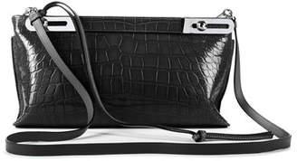 Loewe Missy Crocodile Shoulder Bag