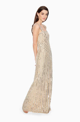 Parker Lisbeth Beaded Dress