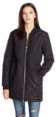 Element Juniors Bamby Light Weight Puffer Windbreaker Jacket $99.95 thestylecure.com