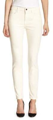 7 For All Mankind Jen7 by Skinny Brushed Sateen Jeans