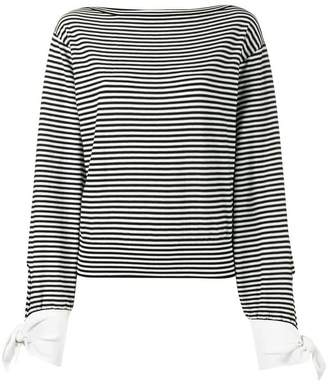 Chloé striped breton top