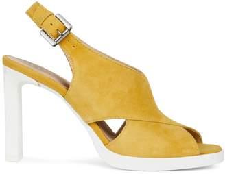 Geox Jenieve Slingback Suede Sandals