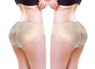 aa8ac92c0d4 ZMZ 2 Pcs Women Butt Lifter Hip Enhancer Pads Underwear Shapewear Lace  Padded Control Panties Shaper