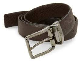Roberto Cavalli Pebble Leather Belt