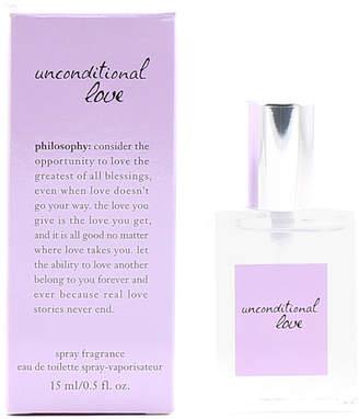 philosophy Women's Unconditional Love .5Oz Edt Spray