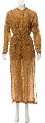DÔEN Long Sleeve Maxi Dress
