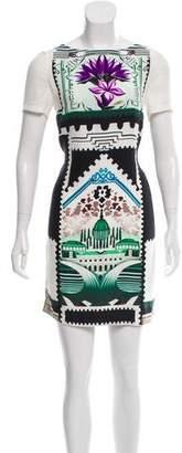 Mary Katrantzou Silk Mini Dress