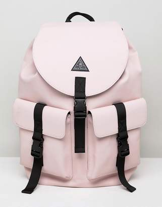 Jack Wills rubberized cargo backpack