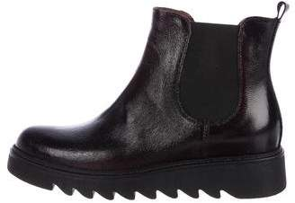 Barneys New York Barney's New York Patent Leather Ankle Boots w/ Tags