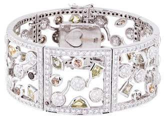 Nini 18K Diamond Ornate Bracelet