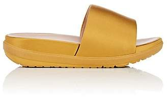 FitFlop LIMITED EDITION Women's Loosh Satin Slide Sandals - Gold