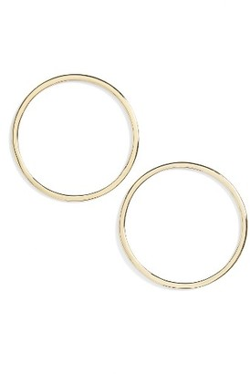 Women's Madewell Circle Earrings $32 thestylecure.com