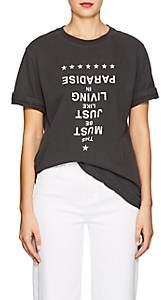 """Ksubi Women's """"Paradise"""" Cotton T-Shirt - Black"""