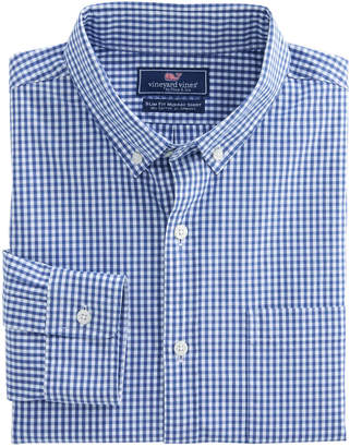 Vineyard Vines Buttonbush Check Slim Murray Shirt