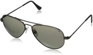 Randolph Concorde CR7R434 Polarized Aviator Sunglasses, /Gray
