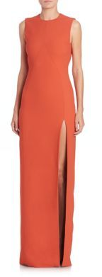 Jason Wu Sleeveless Open-Back Gown $2,990 thestylecure.com