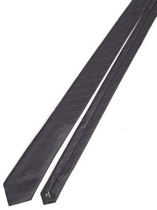 Giorgio Armani Patterned Detailed Neck Tie