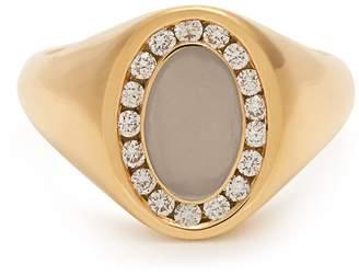 JESSICA BIALES Diamond & yellow-gold ring