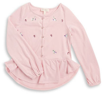 Jessica Simpson Girls 7-16 Embellished Knit Tunic $44.50 thestylecure.com