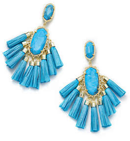 Kendra Scott Kristen Fringe Dangle Earrings