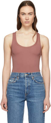 Rag & Bone Pink The Tank Bodysuit