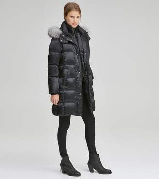 Andrew Marc LEVEN SATIN DOWN JACKET