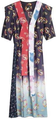 Marc Jacobs Printed Cotton Blend Dress