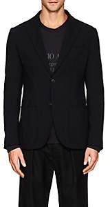 Giorgio Armani Men's Tokyo Stretch-Wool Two-Button Sportcoat - Black