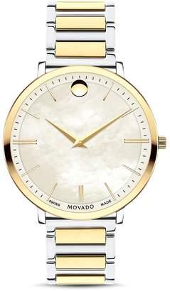Movado Ultra Slim Two-Tone Watch, 35mm