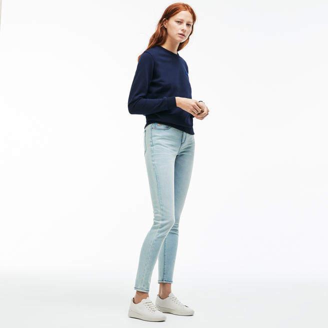 Damen-Jeans aus Stretch-Baumwolle mit 5 Taschen L!VE