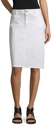 Liz Claiborne Simply Liz Spring 2019 Womens Denim Skirt