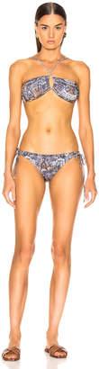 Sand & Blue Segre Bikini in Serpe | FWRD