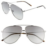 Gucci 63mm Oversize Gradient Aviator Sunglasses