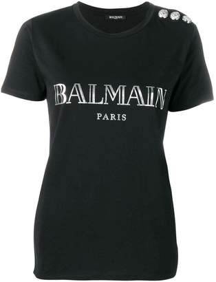 944ef26b608 Balmain Women s Tees And Tshirts - ShopStyle