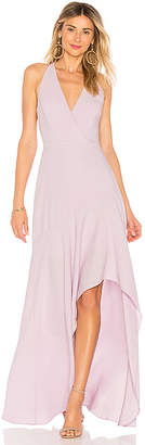 BCBGMAXAZRIA Obree Halter Dress