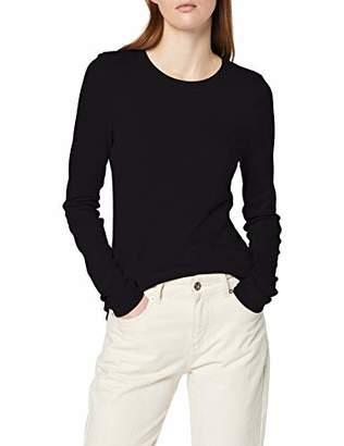 aedc4c78 Tommy Hilfiger Women's TH Essential Skinny Rib TEE LS Longsleeve T-Shirt,M