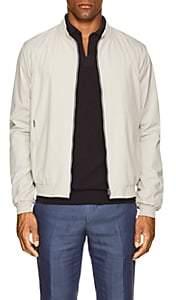 Herno Men's Tech-Poplin Bomber Jacket-White