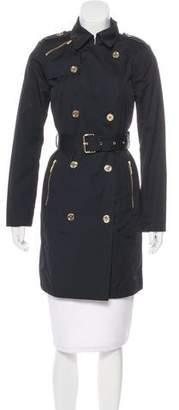 MICHAEL Michael Kors Knee-Length Button-Up Coat