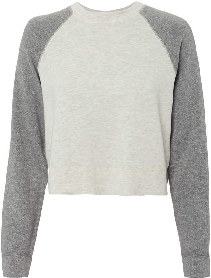 Two-Tone Sweatshirt