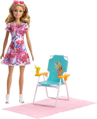 Barbie Beach Doll & Playset