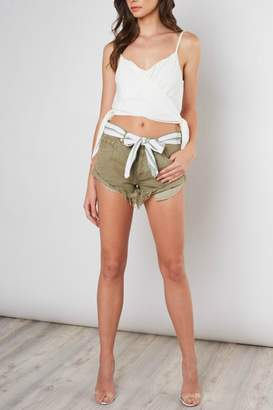 Pretty Little Things Rolled Hem Shorts