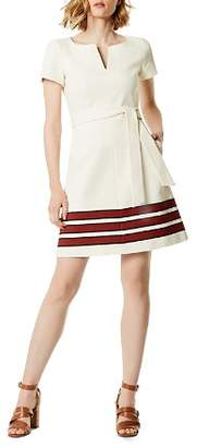 Karen Millen Striped Tweed Dress