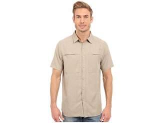 The North Face Short Sleeve Traverse Shirt (Dune Beige Heather