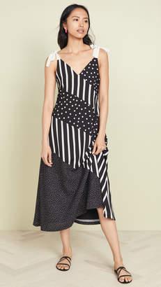 Solid & Striped Bias Dress