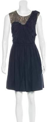 3.1 Phillip Lim Silk-Blend Embellished Dress